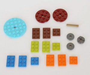 hand spinner en Lego trouvé sur le web