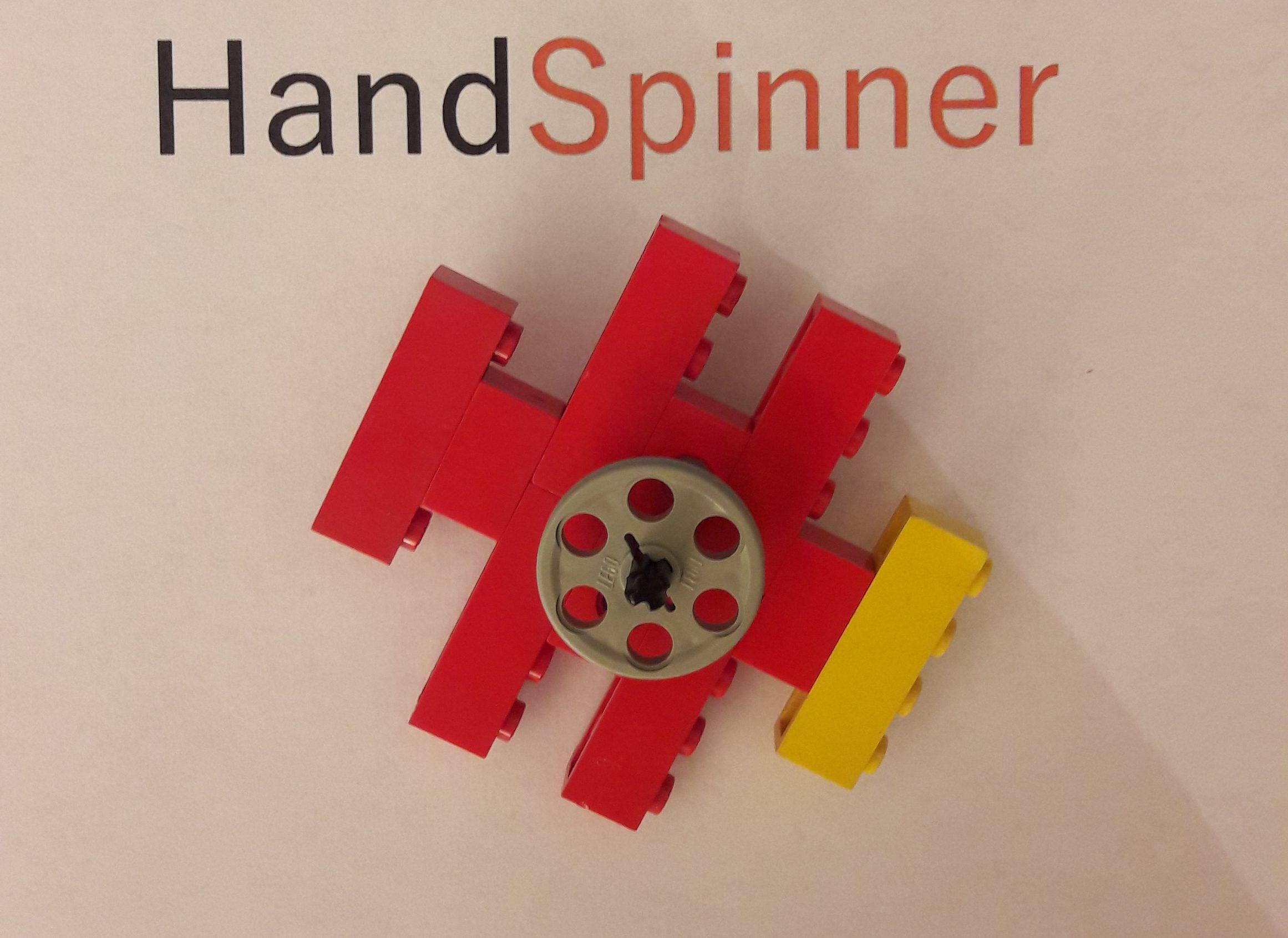 Un hand spinner en lego handspinner for Modele maison lego